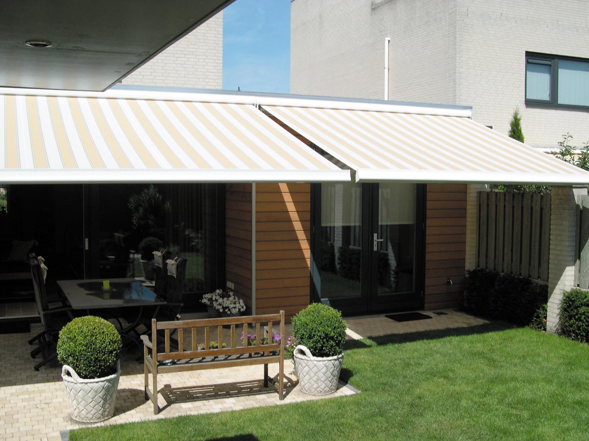 Waterdicht zonnescherm for Tuin allen idee